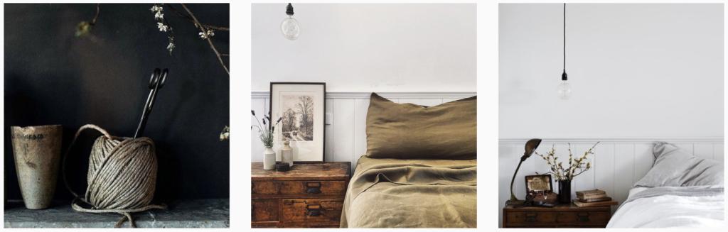 cottage core vintagehousedaylesford Instagram styling design frame