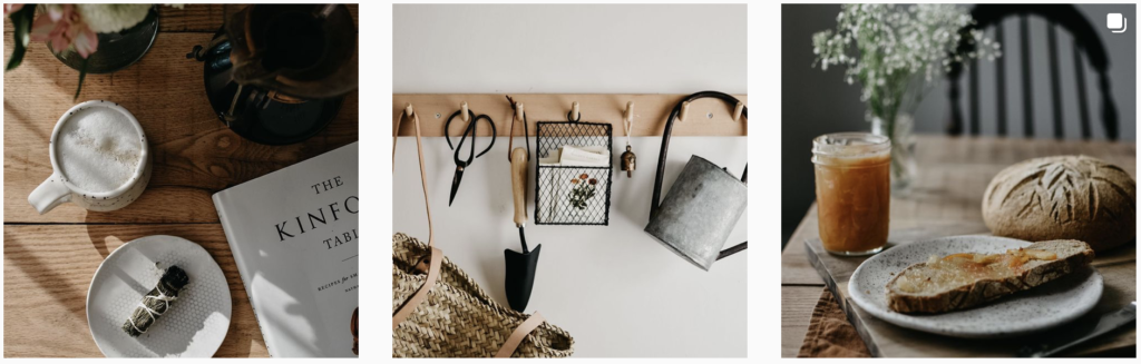 Cottagecore styling @alysonsimplygrows frame fox