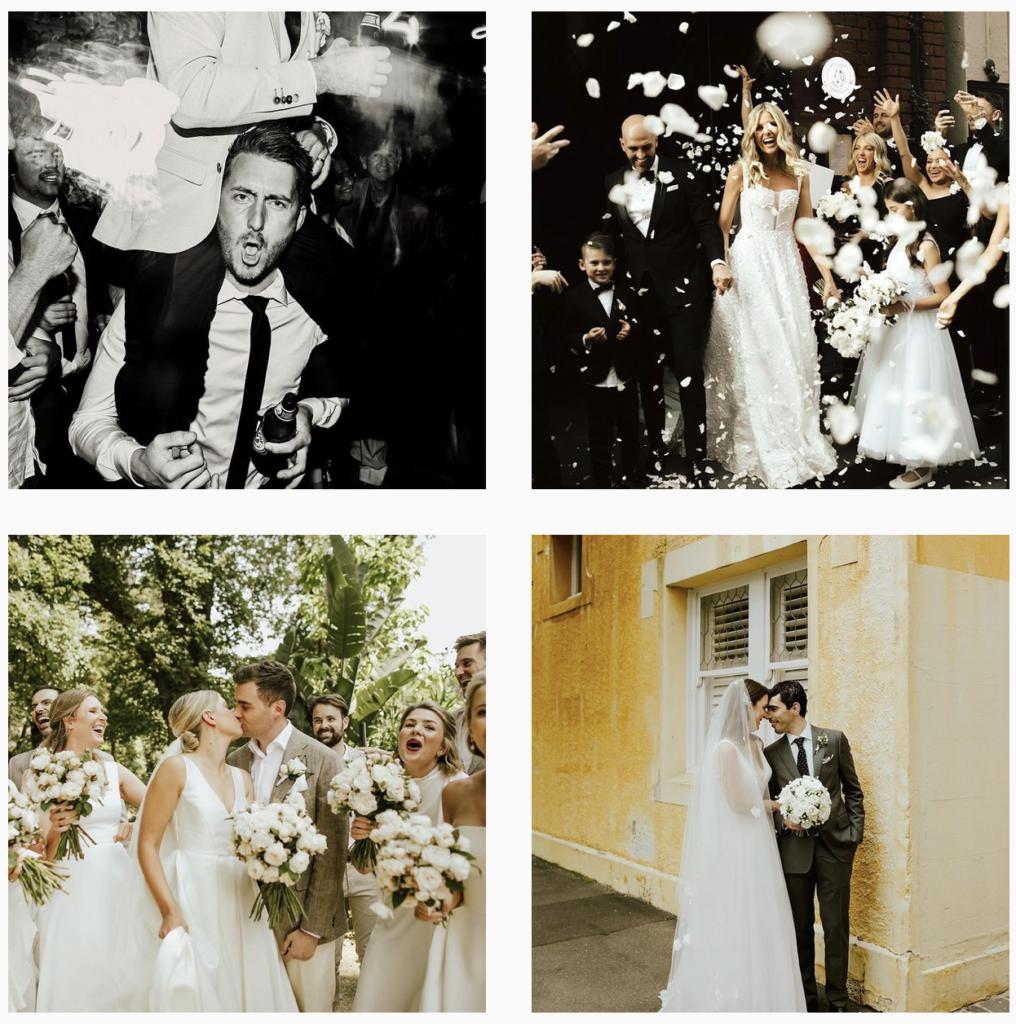 Wedding photography top 10 Madeline Kate Instagram