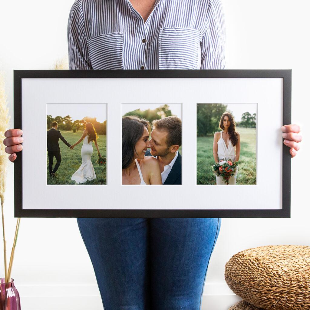 Collage wedding frames picture frame
