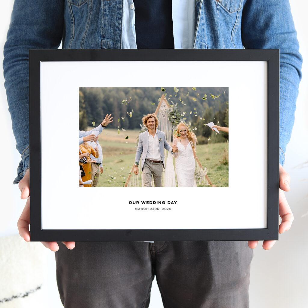 Wedding Caption Frames Gift Ideas